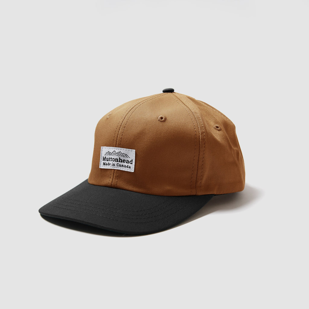 6 Panel - Rust Canvas/Black