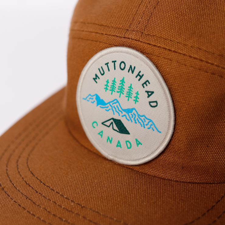 Kids 5 Panel Rust - Camp Patch