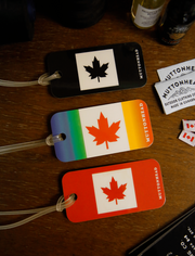 Muttonhead Canada Baggage Tag - Black