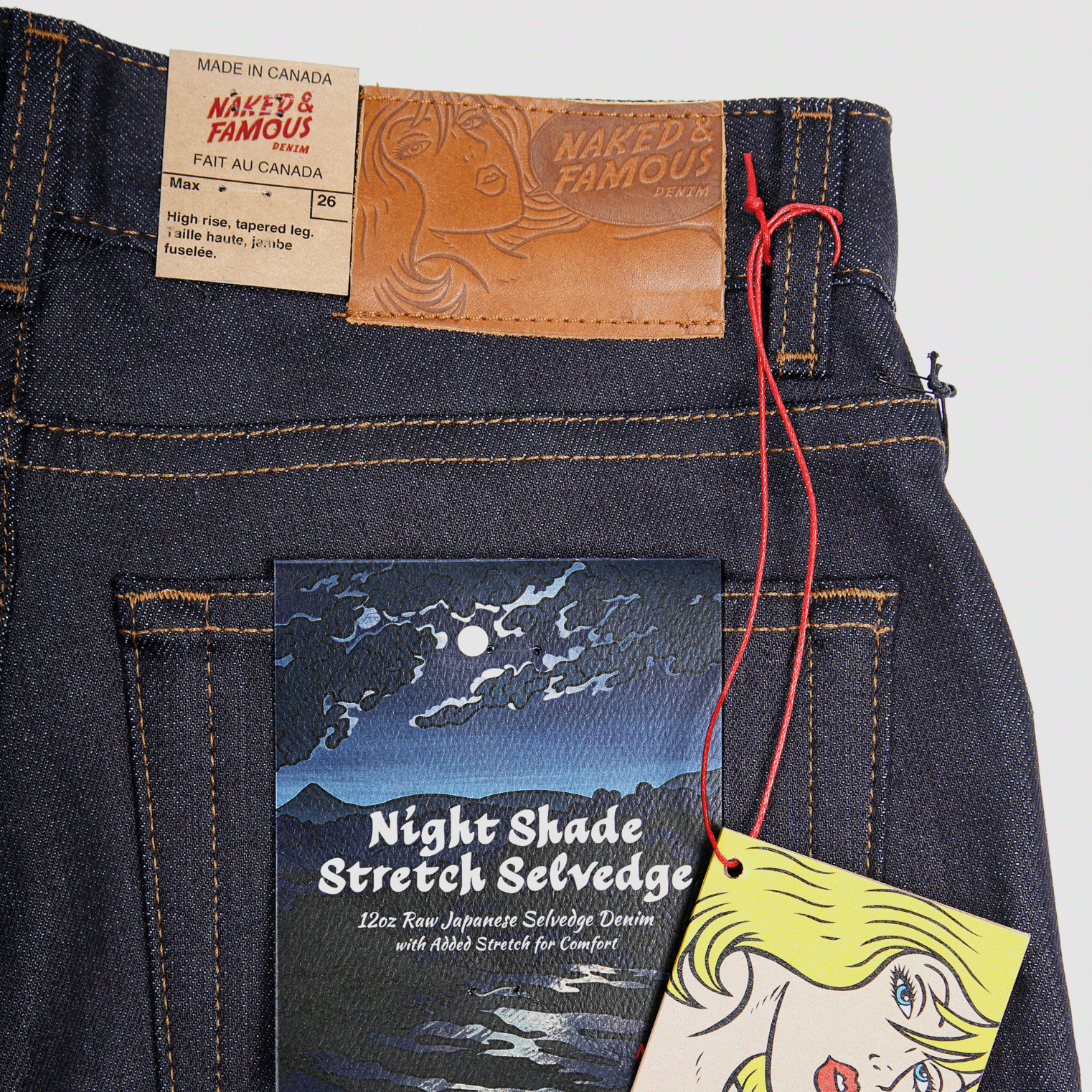 Women's Max - Nightshade Stretch Selvedge