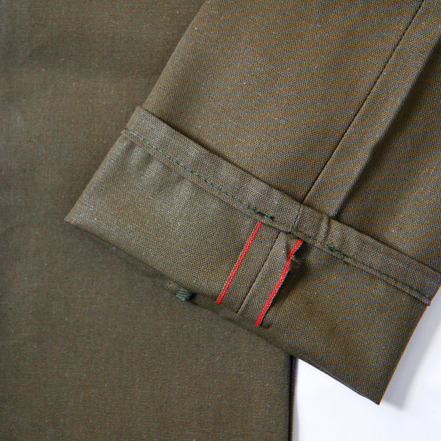 Super Guy - Duck Selvedge - Army Green