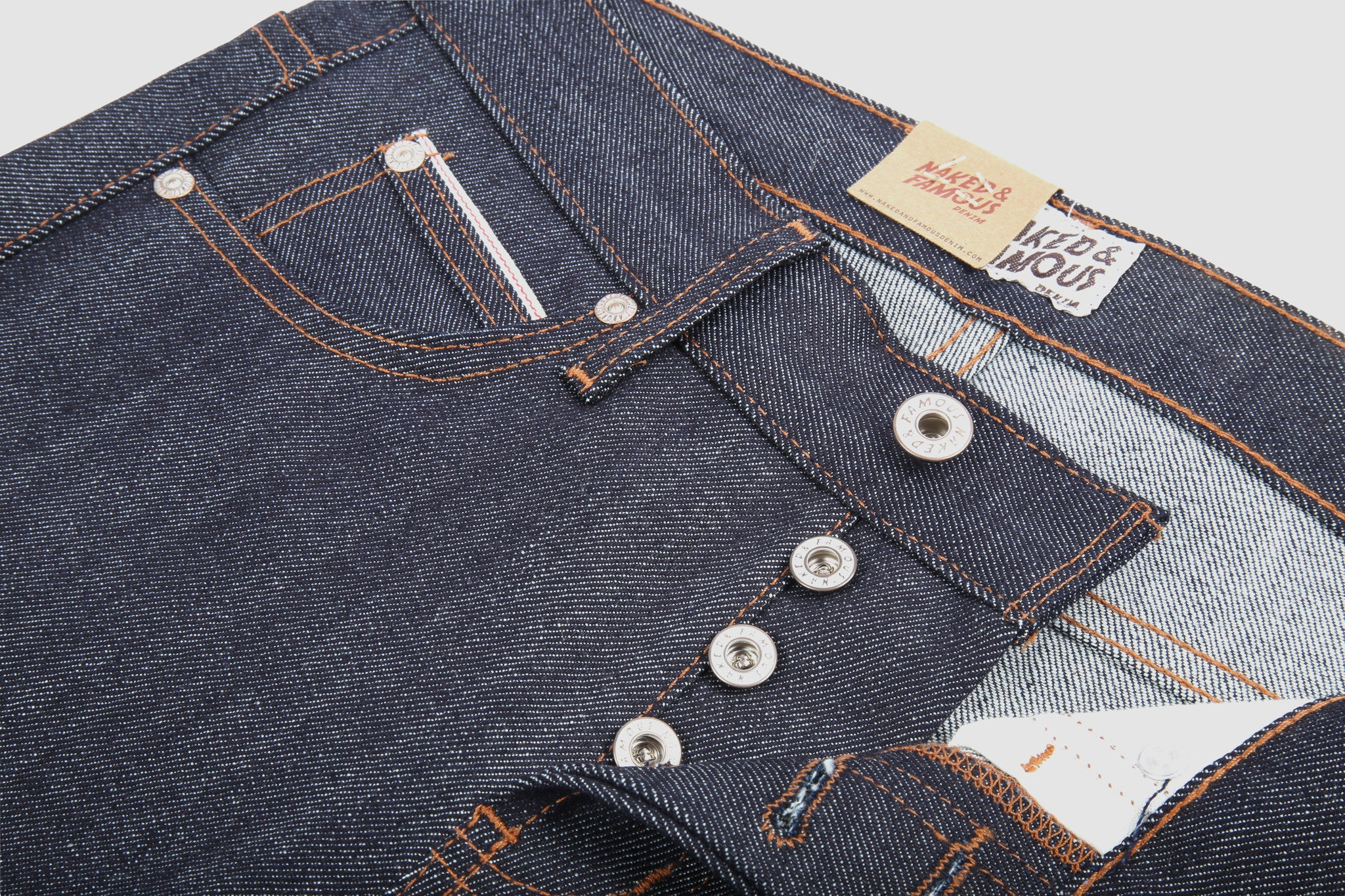 013330 Super Skinny Guy - Stretch Selvedge