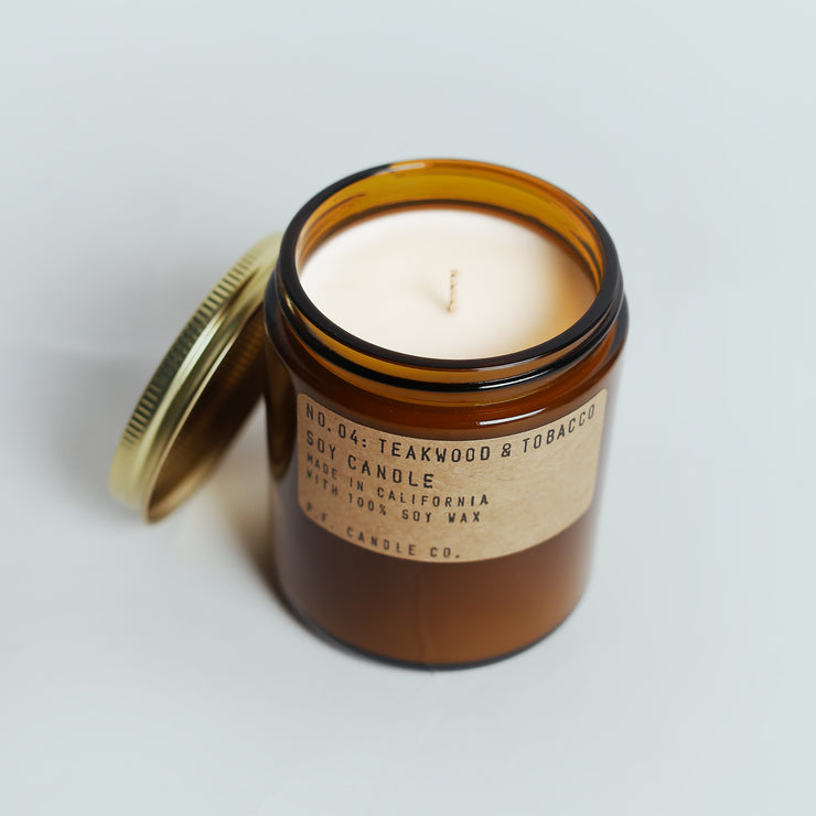 P.F Candle Co. - Teakwood & Tobacco Candle