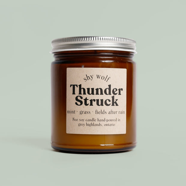 Shy Wolf Candles - Thunder Struck