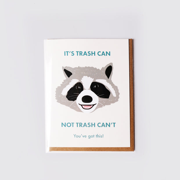 Trash Can Card - Party Mountain Paper Co.