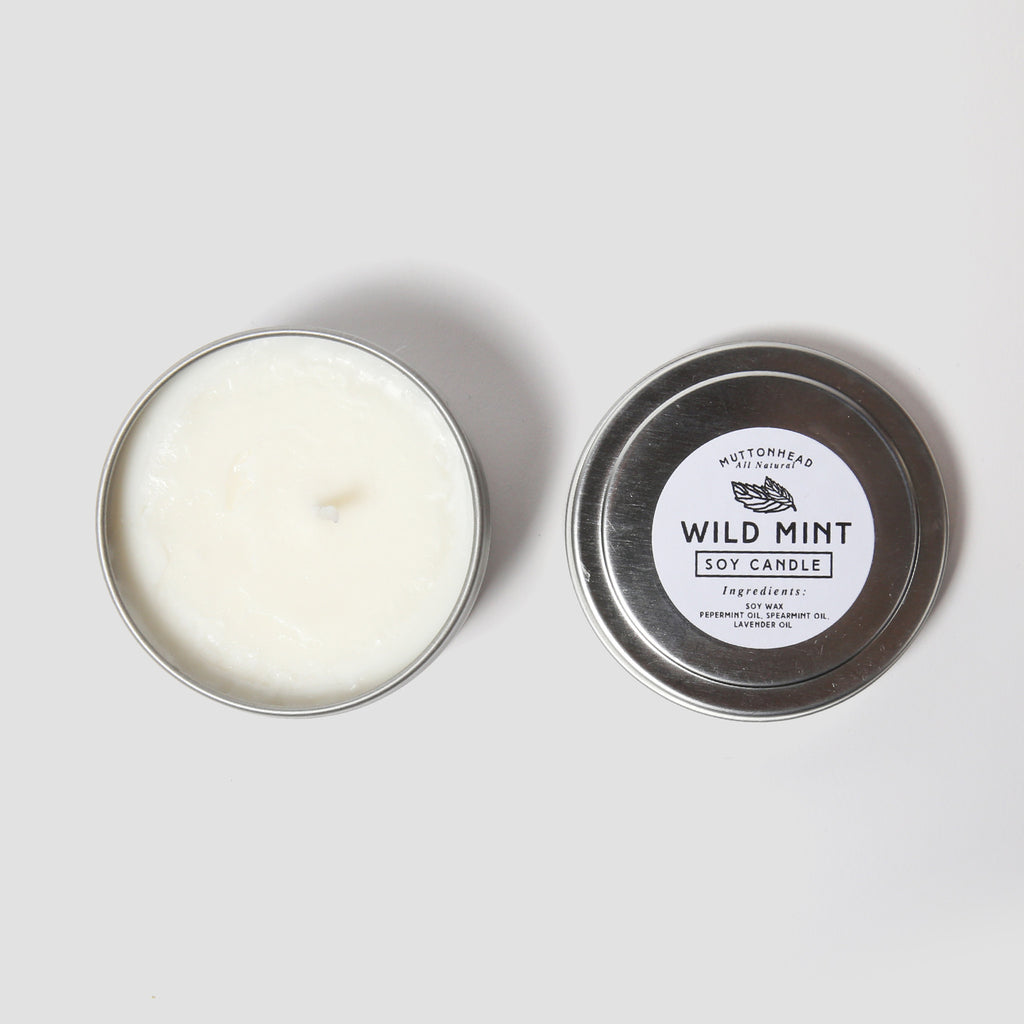Wild Mint Candle - 4oz
