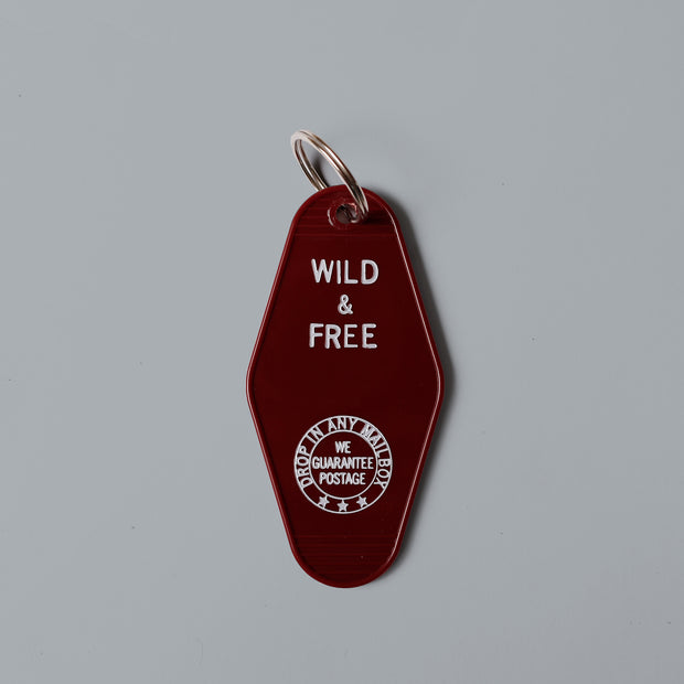 Wild And Free Key Chain