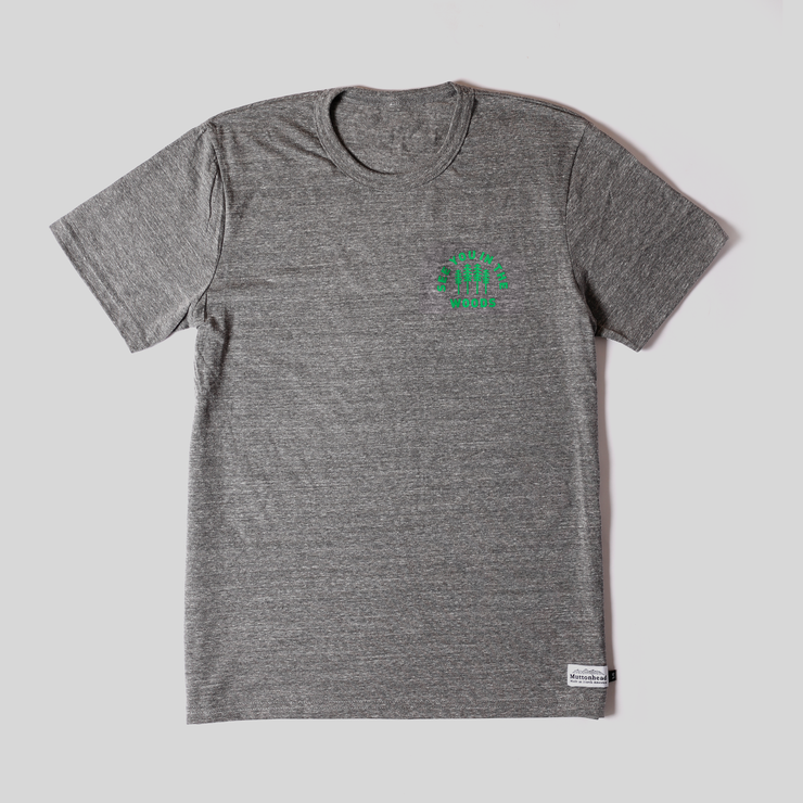 Recycled Tee - Woods - Heather Grey