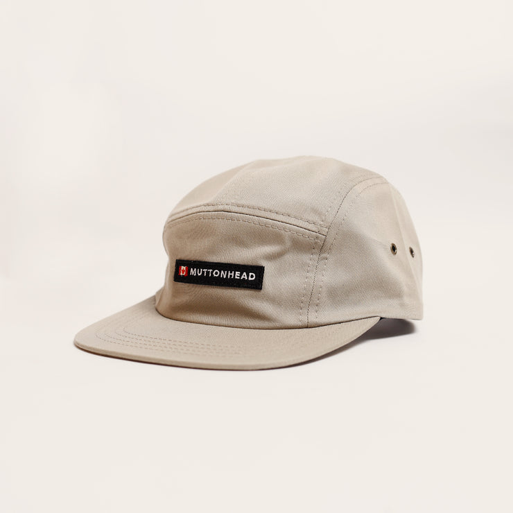 5 Panel - Canada Patch - Khaki Organic Cotton