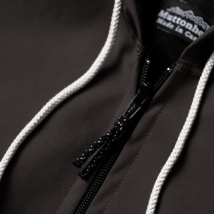 Weatherproof Mtn. Hoodie -  Lightweight Softshell Black