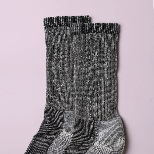 Merino Mountain Hiking Socks - Charcoal