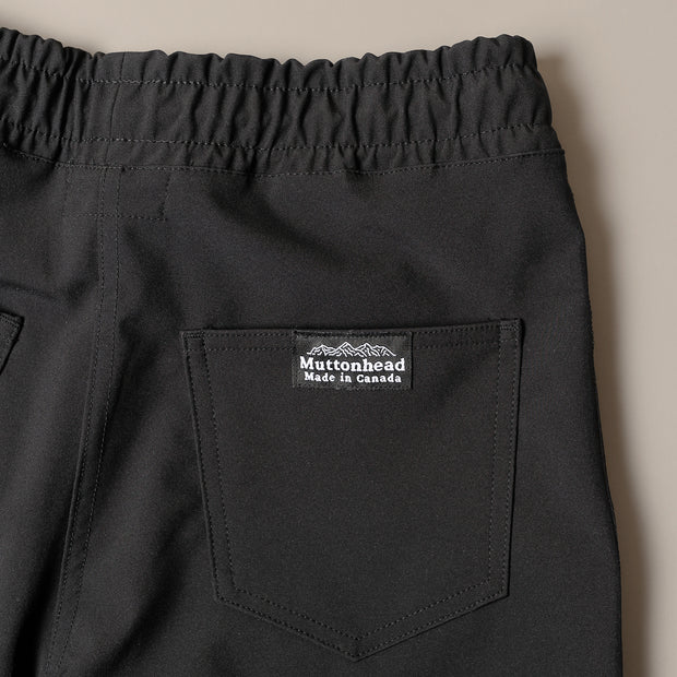 Weatherproof 3-Way Pant -  Lightweight Softshell Black