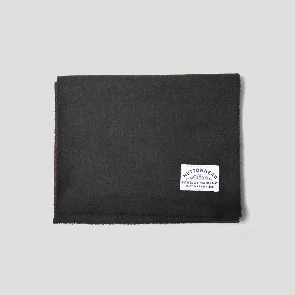 Melton Scarf - Black
