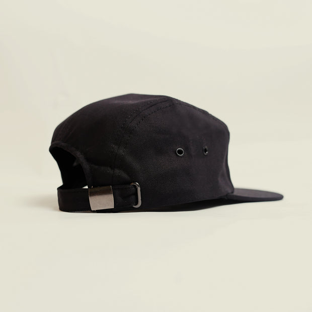 5 Panel - Mountain Patch - Black