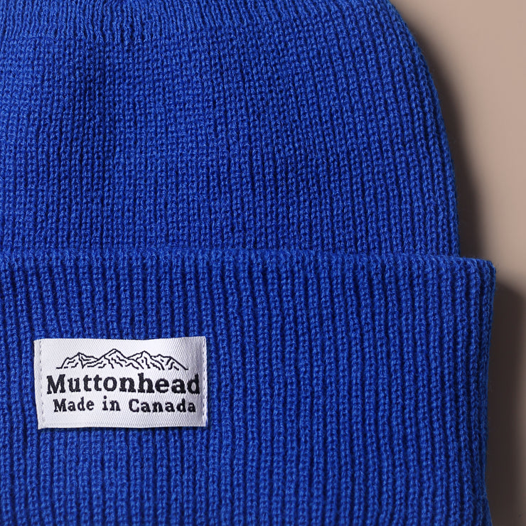 Alpine Knit Toque - Blue