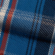 Easy Shirt - Herringbone Plaid - Blue