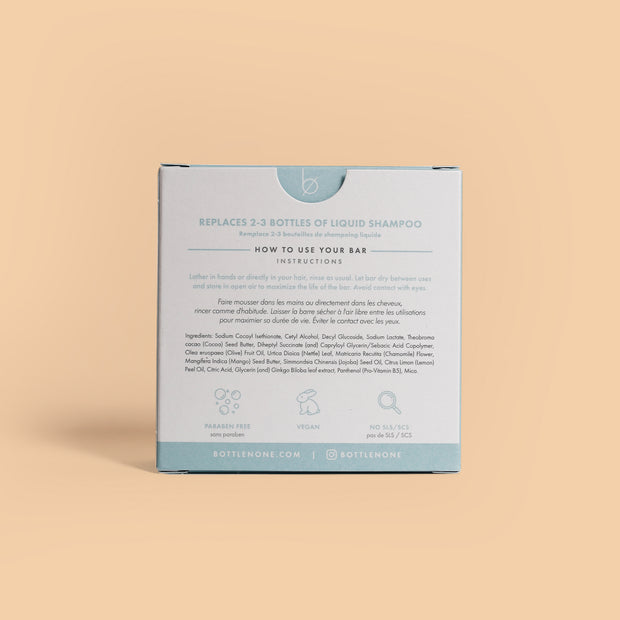 Bottle None - Be Bright Shampoo Bar