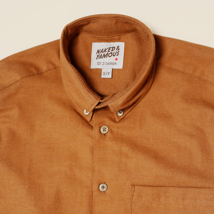 Easy Shirt - Soft Twill - Dijon