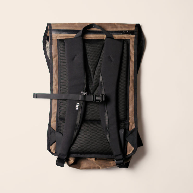 YNOT - Magnetica Backpack - Oak Waxed Canvas