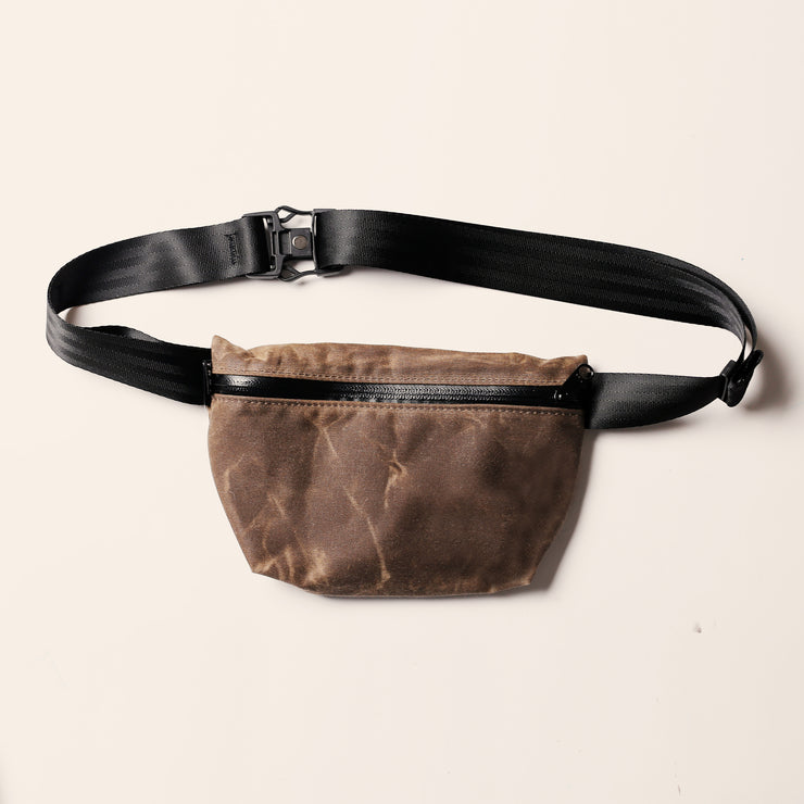 YNOT Hip Pack - Oak Waxed Canvas