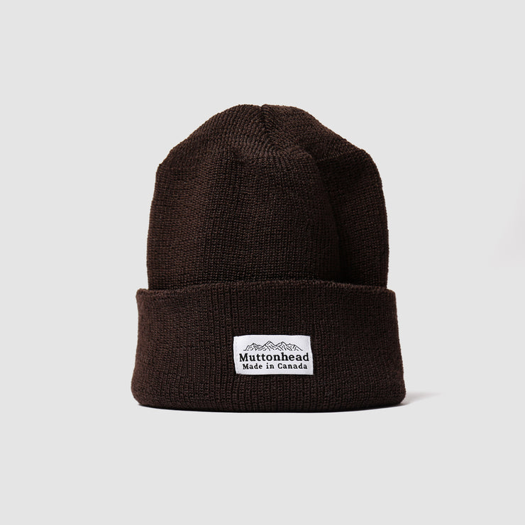Merino Toque - Chocolate