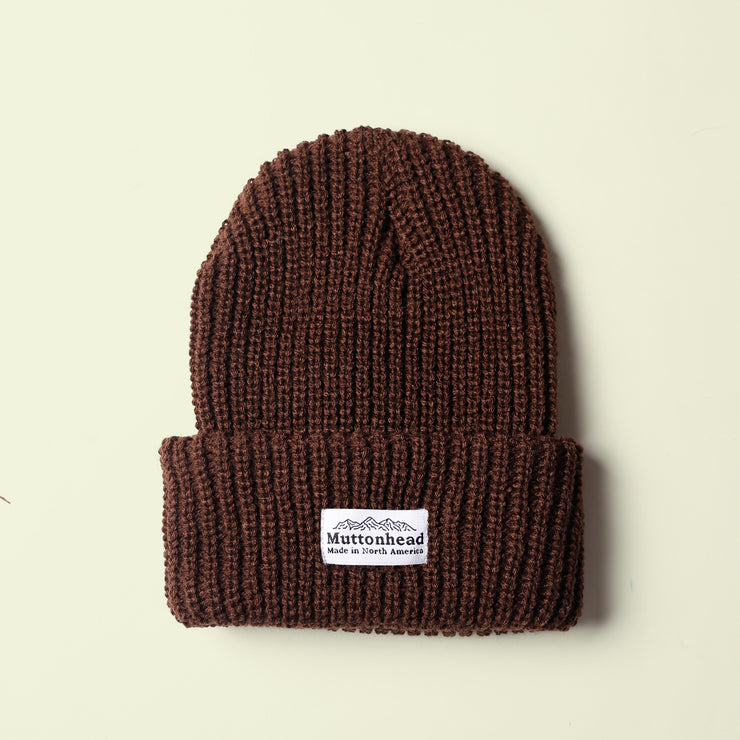 Chunky Toque - Brown