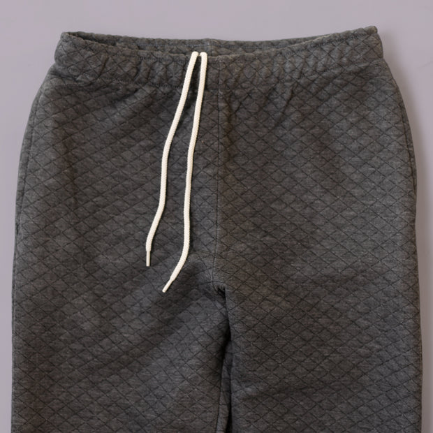 Sweatpants - Charcoal Quilt