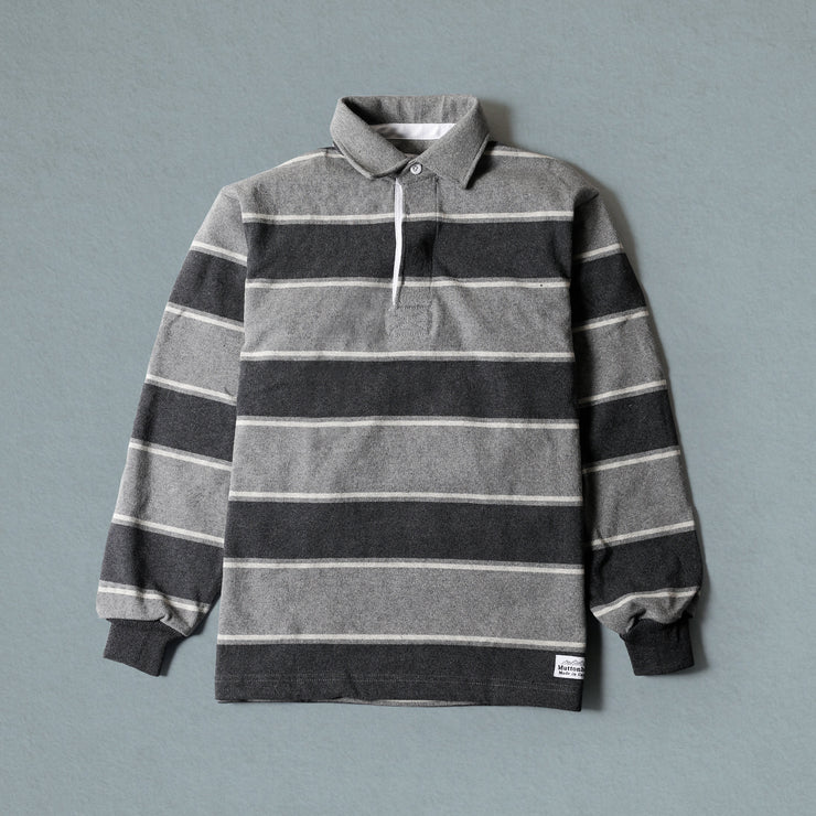 Rugby Shirt - Charcoal Grey