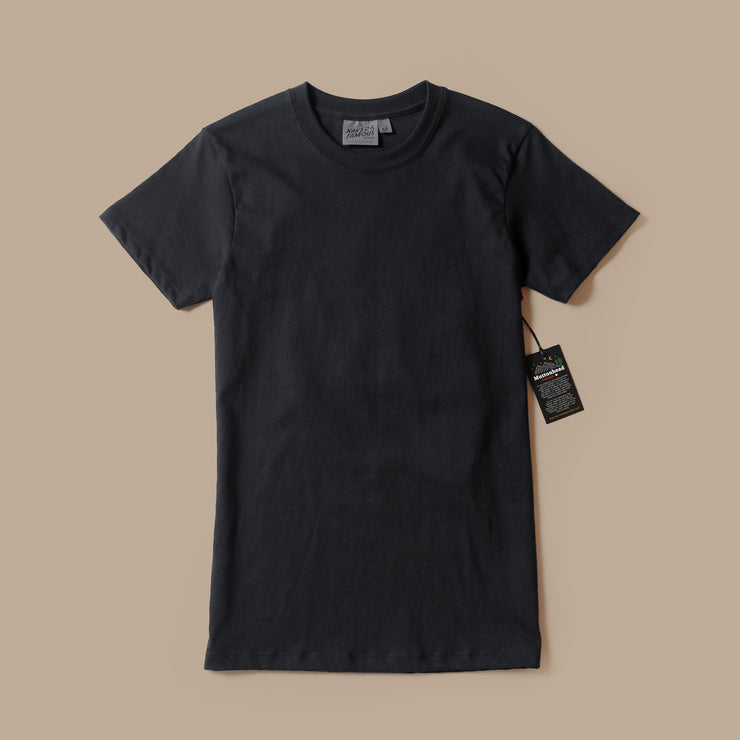 T-Shirt - Black Circular Knit