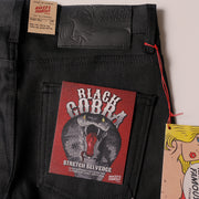 Super Guy - Black Cobra Stretch Selvedge