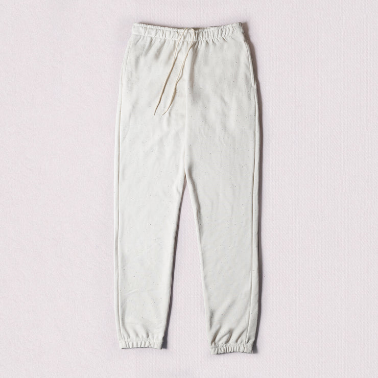 Sweatpants - Cream Speckle