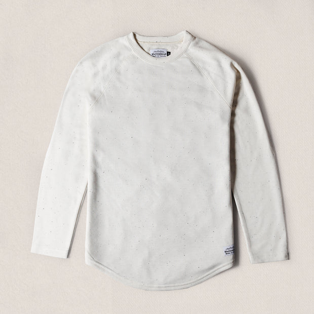 Base Layer Longsleeve - Cream Speckle