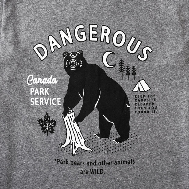 Danger Tee - Grey