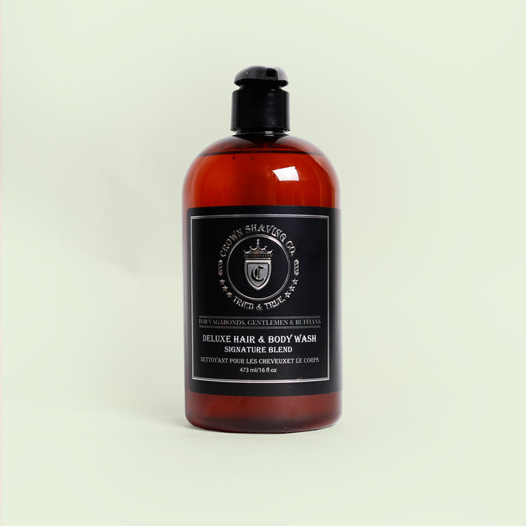 Crown Shaving - Deluxe Hair & Body Wash 16 fl oz.