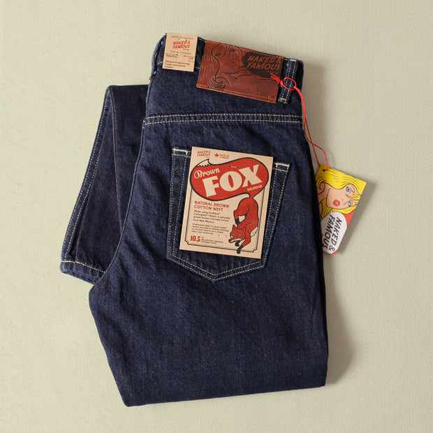 Easy Guy - Brown Fox Selvedge