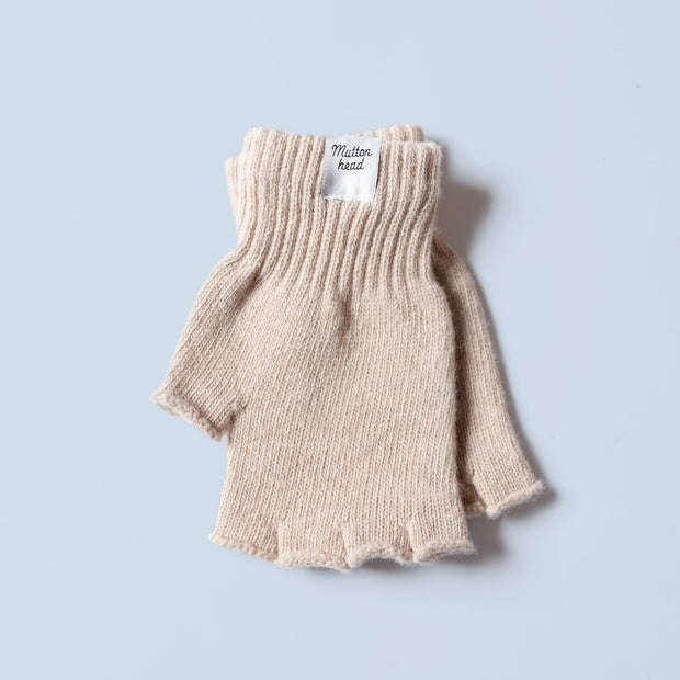 Fingerless Gloves - Fawn