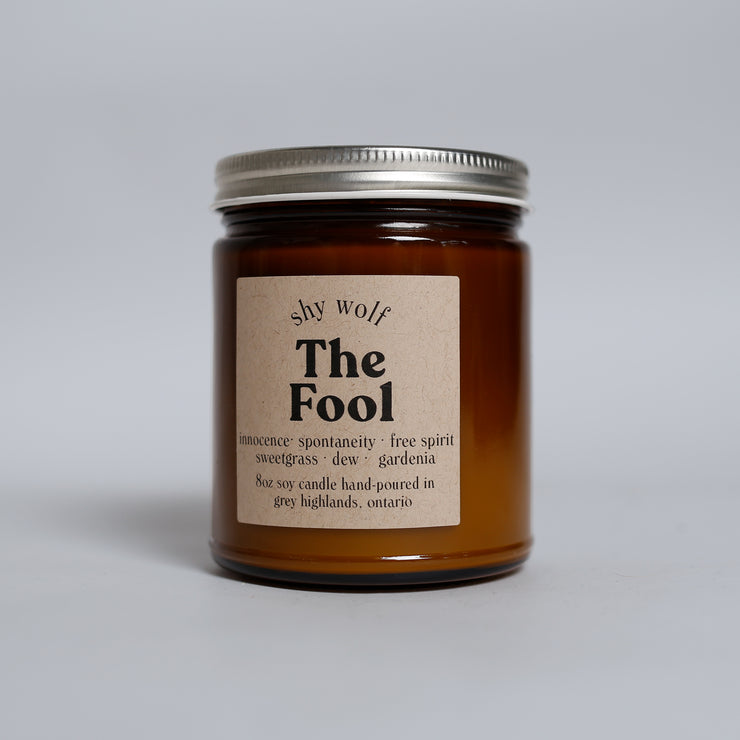 Shy Wolf Candles - The Fool