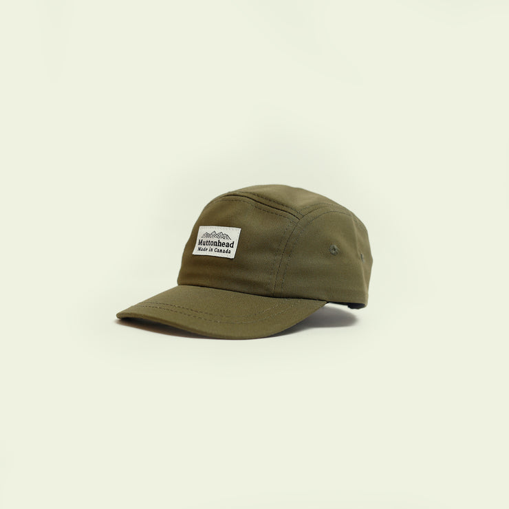 Kids 5 Panel - Olive Organic Cotton