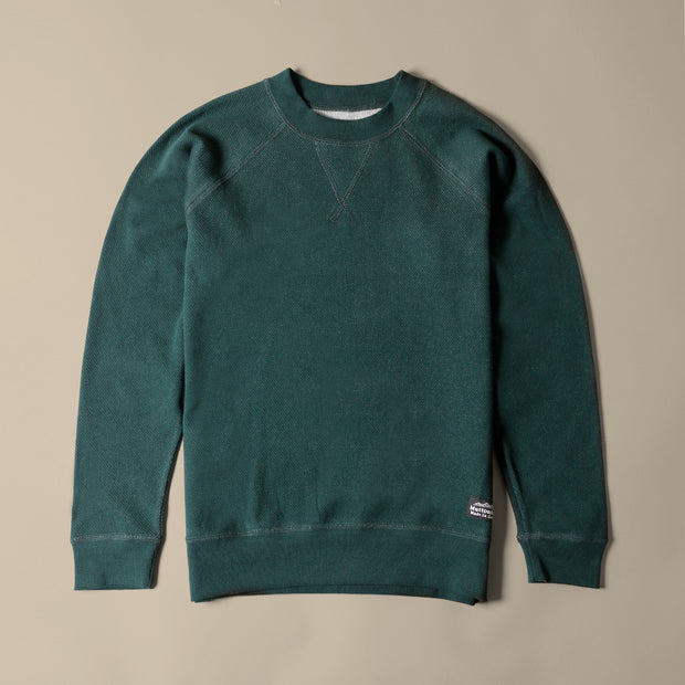Light Weight Air Mesh Crew - Spruce