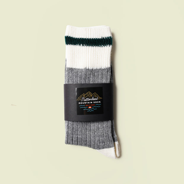 Mountain Socks - Hunter Stripe