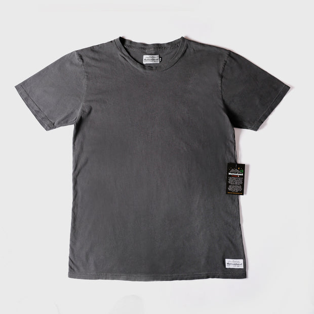 Vintage Pigment Dyed Tee - Washed Black