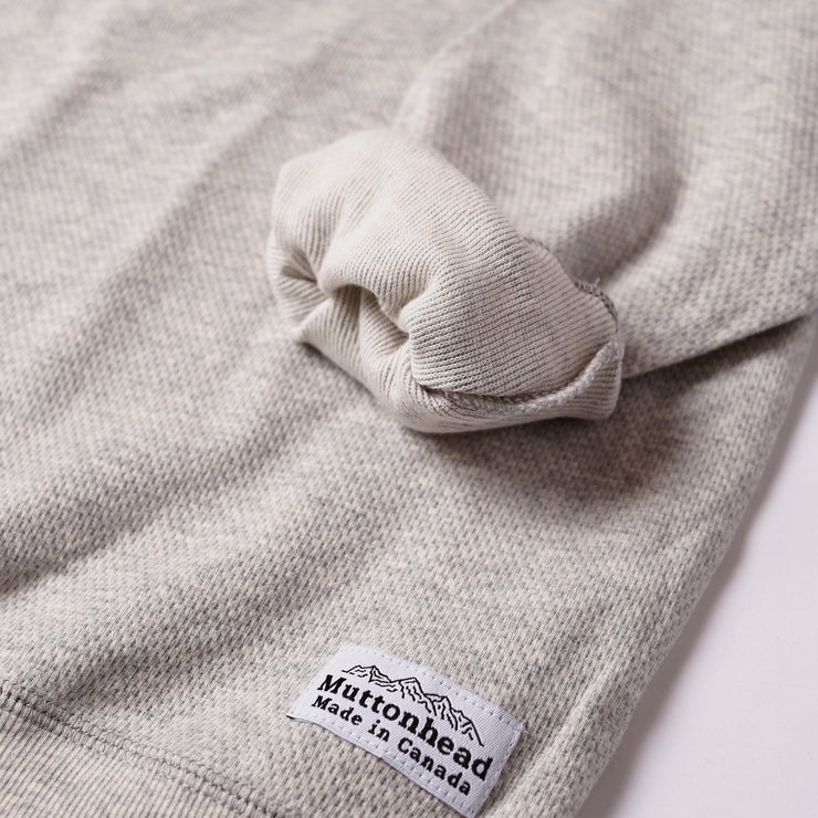 Light Weight Air Mesh Crew - Heather Grey