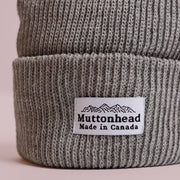 Cotton Knit Toque - Light Grey