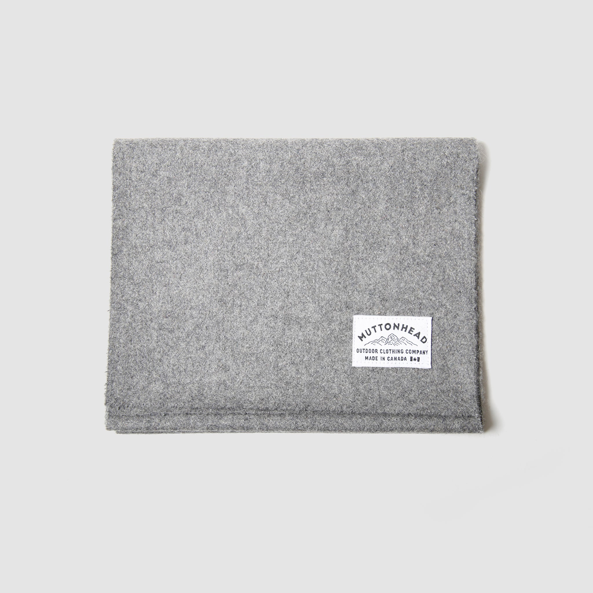 Melton Scarf - Grey