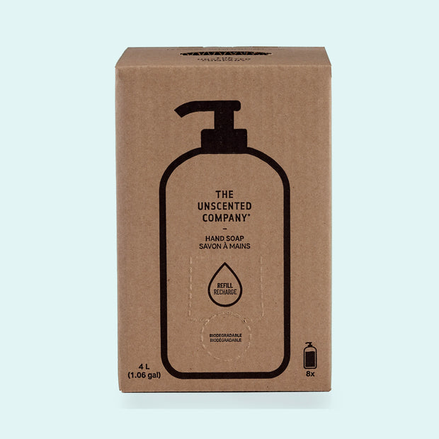 Unscented Hand Soap - 4L Refill Box