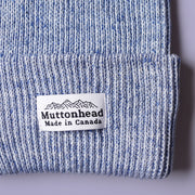 Cotton Knit Toque - Blue Storm