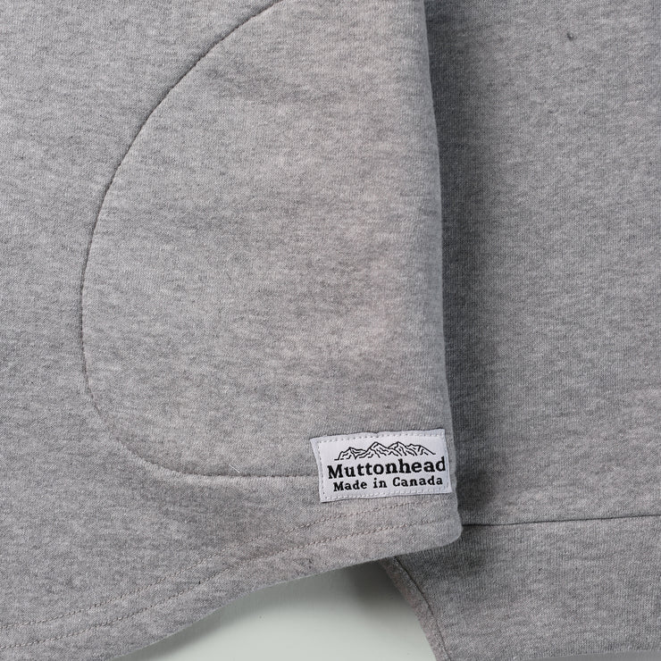 Camping Hoodie - Athletic Grey