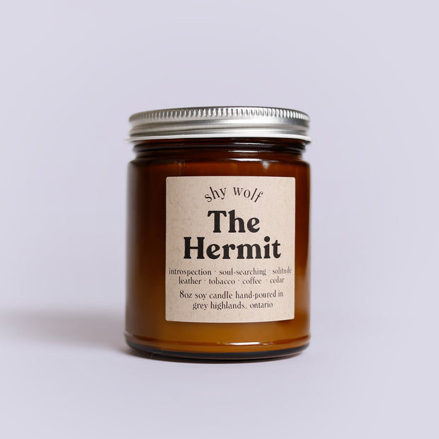 Shy Wolf Candles - The Hermit
