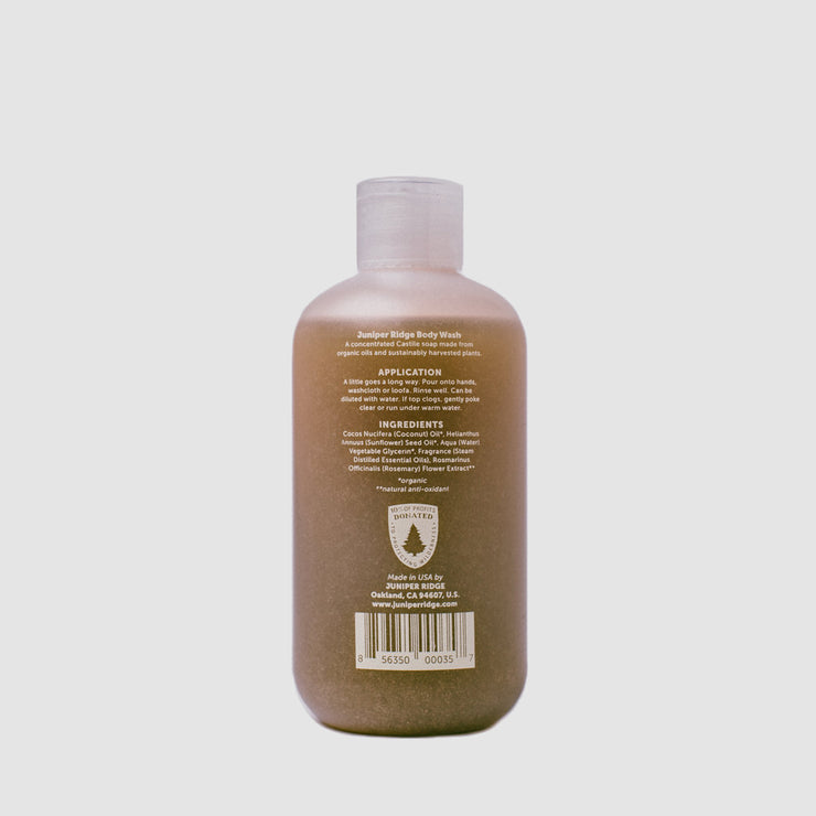 Juniper Ridge - Backcountry Body Wash - Coastal Pine