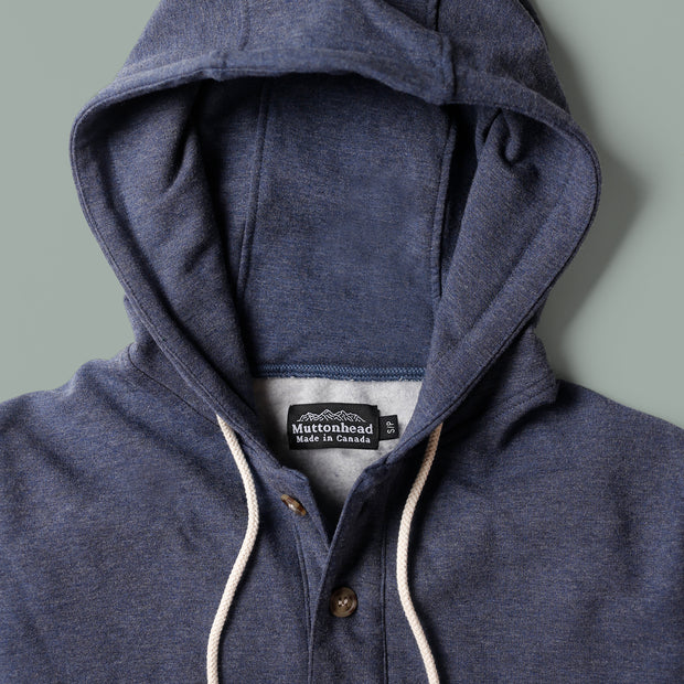 Bamboo Camping Hoodie - Heather Lake